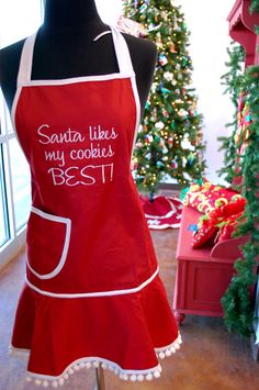Cute apron, the saying is just to cute