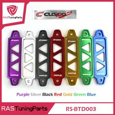 Куско Алюминий Заготовки Батареи Tie Down для Honda Civic EG EK DEL SOL S2000 Acura Integra RS-BTD003