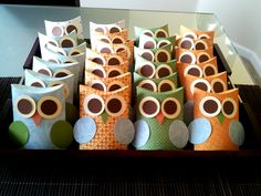 Owl baby shower favors - where to find the package? Baby Shower Favors, Baby Shower Parties, Baby Shower Themes, Baby Boy Shower, Baby Shower Decorations, Baby Showers, Shower Ideas, Owl Shower, Owl Parties