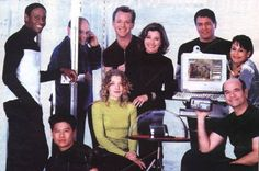 Photo of Voyager Cast for fans of Star Trek Voyager 10000537 Star Trek Enterprise, Star Trek Voyager, Star Wars, Star Trek Tos, Captain Janeway, Kate Mulgrew, Star Trek Images, Star Trek Characters, Star Trek Universe