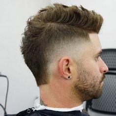 New hair short men makeup 22 Ideas Mohawk Hairstyles Men, Cool Hairstyles For Men, Cool Haircuts, Haircuts For Men, Mohawk For Men, Short Mohawk, Short Hair Cuts, Short Hair Styles, Gents Hair Style