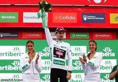 2015 vuelta-a-espana photos stage-13.  Combination classification leader Tom Dumoulin commented it was tough day despite appearances