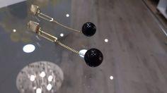 brinco de pressão - linha classic - conto preto cod6