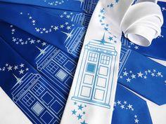 Doctor Who inspired Wedding Tie Set!