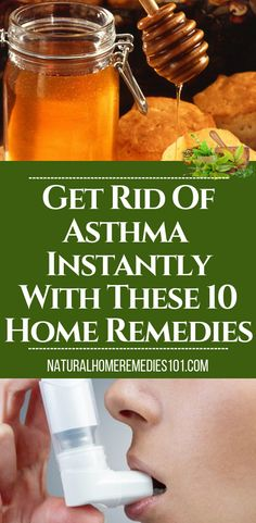 Below are 10 effective natural home remedies for asthma to help you relieve your symptoms very fast! Asthma is a condition that affects millions of people worldwide and can sometimes lead to death in severe cases. home remedies for asthma attacks Home Remedies For Asthma, Natural Asthma Remedies, Home Remedy For Cough, Flu Remedies, Homeopathic Remedies, Natural Cures, Holistic Remedies, Asthma Relief, Honey
