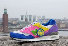 Sneakersnstuff x Milkcrate Athletics x New Balance 577 Sneakers