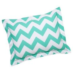 Chevron Standard Sham, Pool