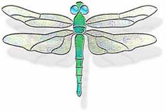Dragonfly Suncatcher Free Pattern