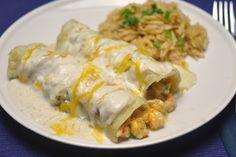 Crawfish Enchiladas
