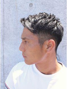 レイドバック(LAID BACK) ツーブロックショートヘア★ビジネスマンの清潔感クールショート