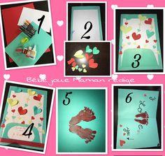 1 –> Il vous faut– Feuilles A4 de couleur – Feuille A4 blanches ( ou autres couleur) – Peinture, colle, feutre, ciseaux, paillettes. 2 –>…