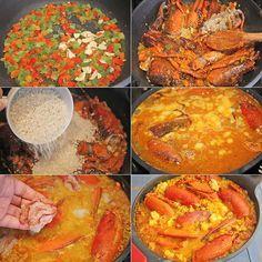 Arroz con bogavante , El arroz con bogavante es una receta de arroz con mucho sabor a mar. Sorprende a todo el mundo con esta receta de arroz con bogavante paso a paso.