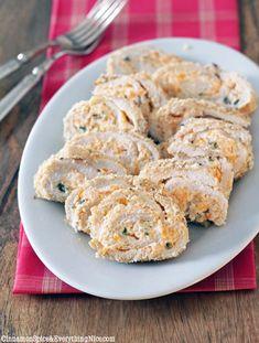 Jalapeno Popper Chicken Roll-ups