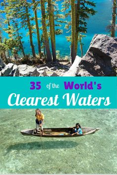 Here are 35 places around the world to strap on your GoPro, do some underwater exploring, and come back with amazingly clear imagery. The world is such an amazing place, be prepared to be stunned by some of the amazing photography you're about to see.