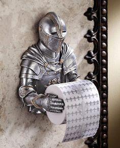 Cool toilet paper roller
