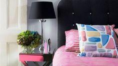 Black and Pink Interior Design Ideas, Beautiful and  Elegant Color Combi...