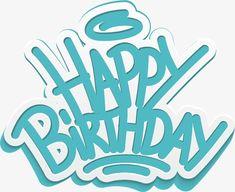 Happy happy birthday,birthday, Happy Birthday, Creative Birthday Poster, Birthday Present PNG Image