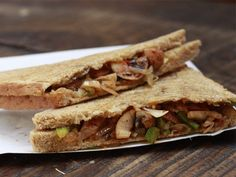 Recipe: Protein Rich Sandwich - Yahoo Lifestyle India OMG
