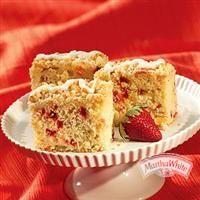 Tropical Strawberry Cheesecake Coffeecake from Martha White®
