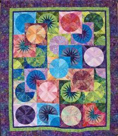 Bali Fever quilt Victoria Quilters Guild (BC, Canada)