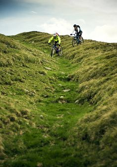 Out of bounds. Go outside and explore your surroundings. #mtb #downhill