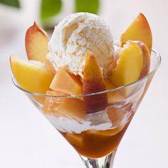 Celebrate national peach ice cream day with #homemade #icecream #myrecipe #gardenhome #arkansasgrown #peaches #sharethebounty #delicious #mossmountainfarm
