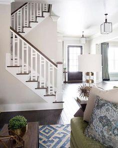 Beautiful stair railing/ banister!