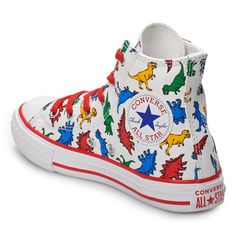 ff3e383c0a60 Boys  Converse Chuck Taylor All Star Dino High Top Shoes