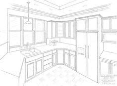 Easy Interior Design Sketches interior design sketches living room - google search | magic