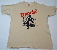 #Extremely #Rare #NOS #vintage #70's #DANCIN' sz L t shirt #dancer #graphic #dance dancing s/s tee #tango #GraphicTee #Dancingwiththestars #Retro #Ballroom #Disco #Swing #Oneofakind #Incredible!