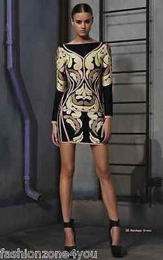 Celebrity bandage bodycon dress cocktail club evening party long sleeves  XS-L Long Sleeve Bandage d4657228e9