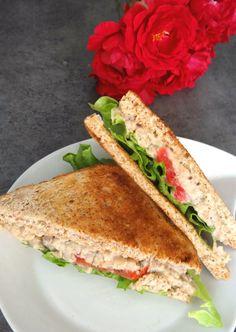 Une parfaite alternative végétarienne au sandwich thon mayo, à base de haricots blancs ou pois chiches.