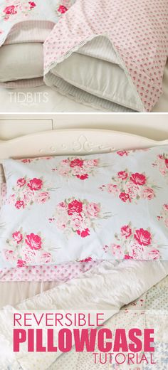 Reversible Pillowcase Tutorial and GIVEAWAY!