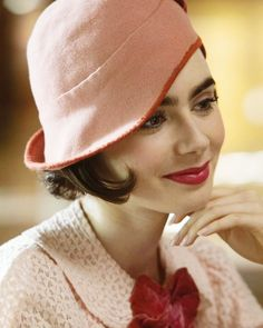 Lily Collins in The Last Tycoon, 2016