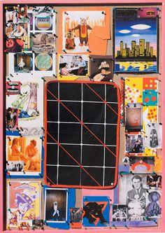 Tal R      Format 68 x 97 cm, Oplag 100, Serie på syv - bestilles enkeltvis#1