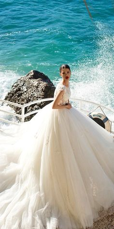Princess ball gown bridal dresses
