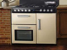 CUISINIÈRE PIANO Cuisinière Gaz KITCHNER Notre Petit - Cuisiniere four chaleur tournante gaz pour idees de deco de cuisine