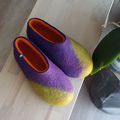At wooppers we can make slippers with your individual choice of colour.