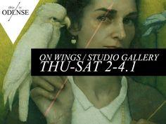 """""""On Wings"""". Tematisk udstilling om vinger på The Studio Gallery. Læs anbefalingen på: www.thisisodense.dk/7091/on-wings-p-the-studio-gallery #onwings #exhibit #thestudiogallery #studiogallery #odense #vesterbro #wings"""