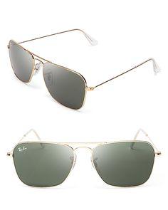 Ray-Ban Caravan Aviator Sunglasses | Bloomingdale's