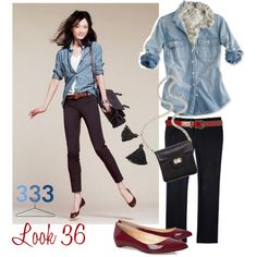 """""""Project 333/Fall Look 36"""" by jcrewchick on Polyvore"""