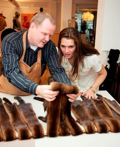 Brooke Shields loves fur – so much so, that she's always wanted to design her own fur coat. This has been a dream that Brooke has had quite a while, and now it's come true. Brooke visited Kopenhagen's Fur's creative workshop where she designed her own mink coat. Brooke has always been pro-fur, and even encourages others to invest in fur coats. (via Boycott J. Lopez, Protest Her Wearing Fur, the Skin of Murdered Animals on Facebook)