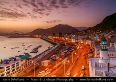 https://flic.kr/p/4osZ2r | Yemen - Sunset over Al Mukhala Harbour |  Join me on Facebook   |   Google+  |  Twitter   |   500px     |   Instagram   ~~~~~~~~~  Al Mukhala - is the capital of Hadramout and one of Yemen's ports on the Arabian Sea. It was known as Khaisa or Bandar Yakoub and has been called Mukalla only recently.  Fishermen were the first to settle in Mukalla, having immigrated from adjacent regions, In this city, the first Princedom of Al-Kasad was established in the 18th 19th…