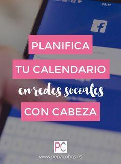 Planifica tu calendario en Redes Sociales #calendariocommunitymanager