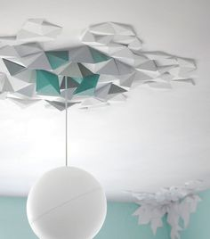 Geometrisch: Wand- und Deckenschmuck Rhombus von The Fundamental Group - Neue Ideen für kahle Wände 9 - [SCHÖNER WOHNEN]