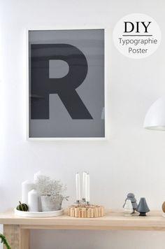Deko Trend: Buchstaben + DIY   {Sinnenrausch}   Bloglovin'