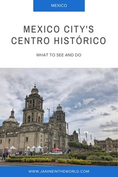 Mexico City's centro histórico is a fascinating neighborhood in the heart of the city. It is filled with historically significant sites and buildings.You could easily spend a week exploring there! Read on for some of my favorite spots to visit.
