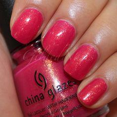 China Glaze - Strawberry Fields (backup)