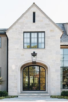 French Country Exterior, Country Home Exteriors, Modern Farmhouse Exterior, French Country House, French Farmhouse, French Cottage, Stone Home Exteriors, French Style House, Stone Exterior Houses