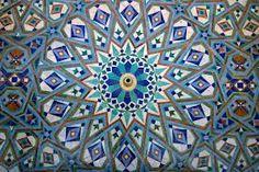 Moorish designs, tile, water features - floor!